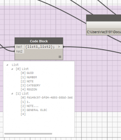 Revit to Excel With Included Column Headers Using Dynamo